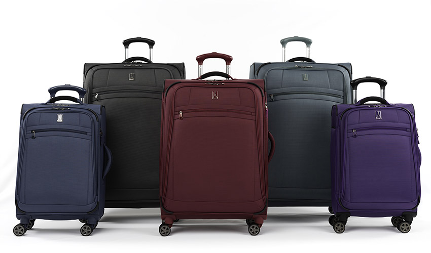 8 WHEEL EXPANDABLE SPINNER LUGGAGE - ROLL AND MOVE IN MULTIPLE DIRECTIONS Header Image